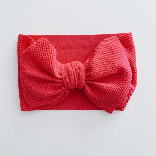 Sugar & Maple Baby Headwrap - Hot Pink