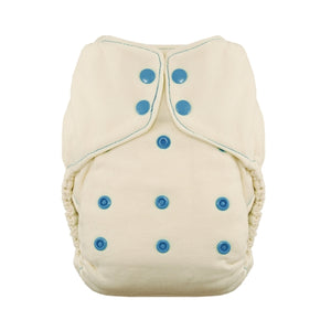 Thirsties Snap Natural One Size Fitted Diaper