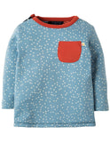 Frugi - Little Rory Reversible Top Warm Scandi Skies (AW18)
