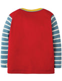Frugi - Piper Envelope Top Mars Red/Mountains (AW18)