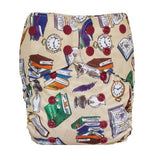 Lalabye Baby One Size All-in-2 Cloth Diaper - Prints