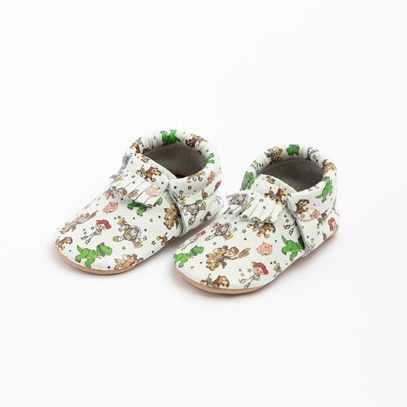 Freshly Picked Soft Sole City Moccasins in Toy Story