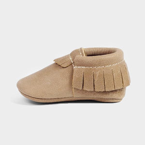 Freshly Picked Soft Sole Moccasins in Weathered Brown
