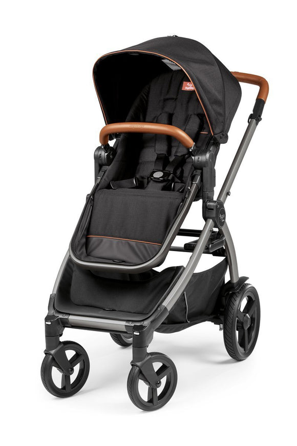 Agio by Peg Perego Z4 Full-Feature Reversible Stroller - Black