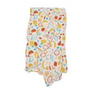 loulou LOLLIPOP - Muslin Swaddle Cutie Fruits