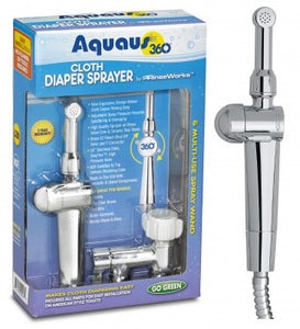 Rinseworks - Aquaus 360° Handheld Bidet & Diaper Sprayer For Toilet
