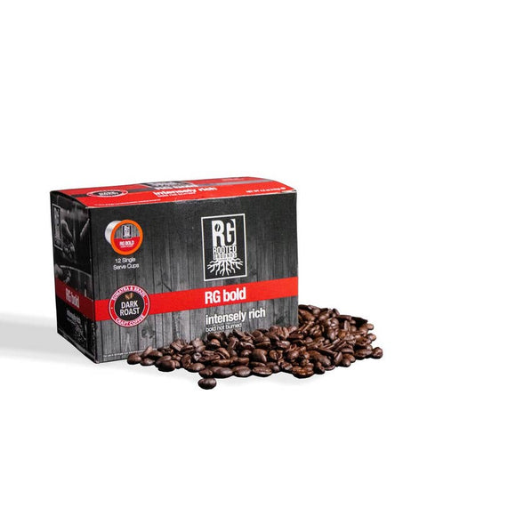 Rooted Grounds Coffee Co. K-Cup 12 pods RG Bold