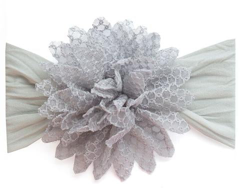 Baby Bling - Fishnet Flower