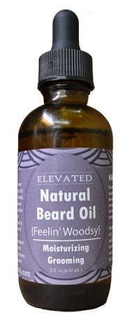 Elevated Natural Beard Oil 1oz.