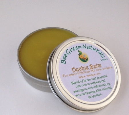 Bee Green Naturals - Herbal Healing Balm (Ouchie Balm/Skin Support Salve)