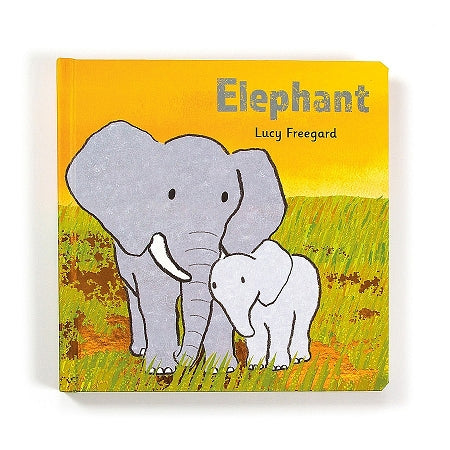 JellyCat Elephant Board Book