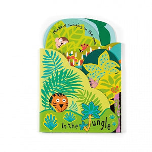 JellyCat In the Jungle Board Book