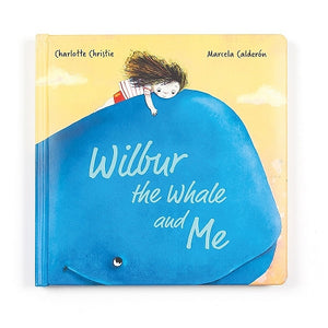 JellyCat Wilbur the Whale and Me Board Book