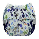 Blueberry One Size Capri Diaper Cover