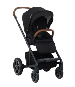 Nuna - MIXX Stroller Caviar with Ring Adapter