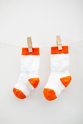 Cheski Knee Sock Orange
