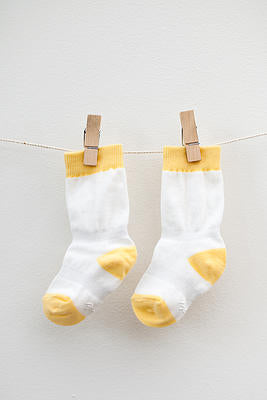 Cheski Knee Sock Yellow