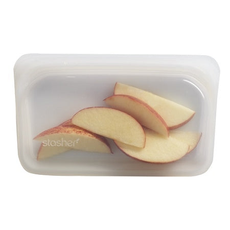 Stasher - Reusable Silicone Snack Bag - Clear