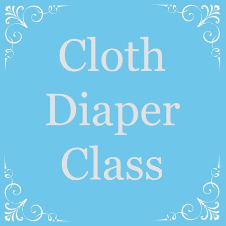 Cloth Diaper 101 Class Registration