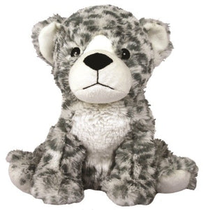 "Warmies Cozy Plush 13"" Snow Leopard"