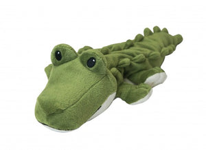 "Warmies Cozy Plush 9"" Junior Alligator"