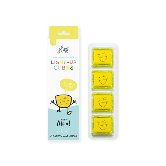 Light Up Cubes - Alex Yellow