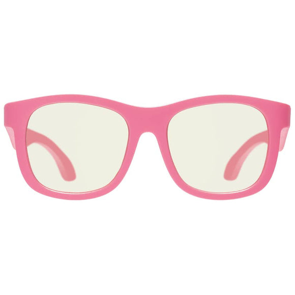 Babiators Blue Light Screen Savers Glasses : Think Pink! Navigator