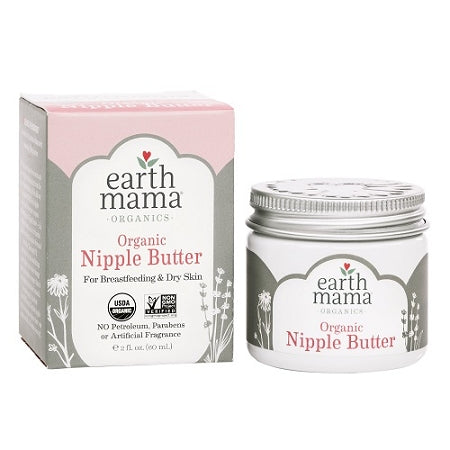 Earth Mama Organic Nipple Butter 2oz.