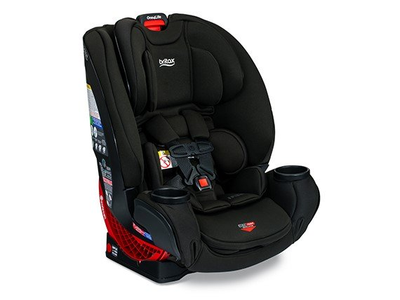 Britax One4Life ClickTight All in One Car Seat in Eclipse (Black Fabric w/SAFEWASH)