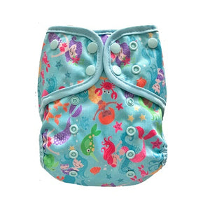 Lalabye Baby - Dearest Diapers Exclusive Enchantment under the Sea One Size Diaper Cover