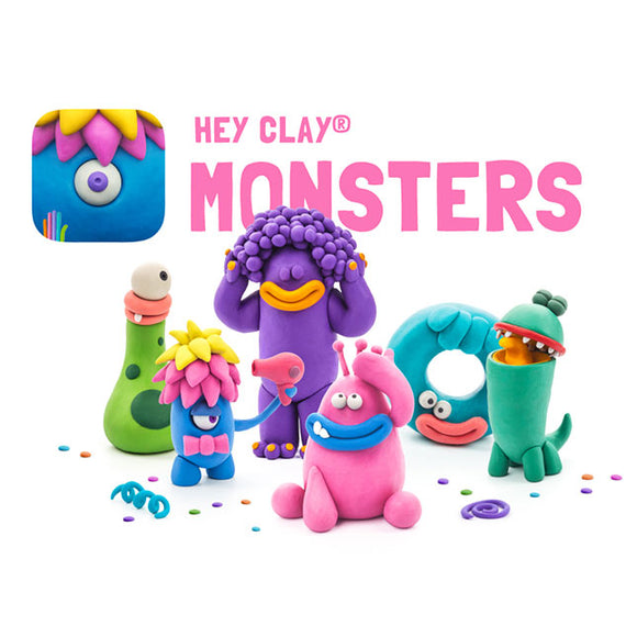 Fat Brain Toys Hey Clay - Monsters