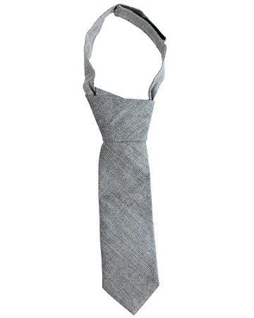 juDanzy Gray Chambray Neck Tie