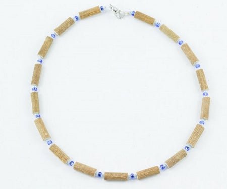 Healing Hazel Blue Hazelwood Necklace