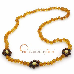 Inspired by Finn Baltic Amber (Adult) -  Unpolished Brilliant Flower