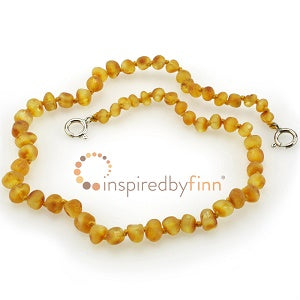 Inspired by Finn Baltic Amber Adjustable Anklet/Bracelet - Unpolished Harvest