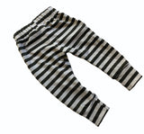 Blumenkind Joggers in Charcoal Stripe
