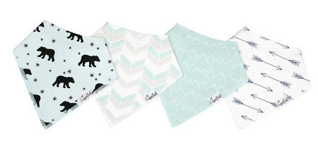 Copper Pearl Bandana Bibs - Archer