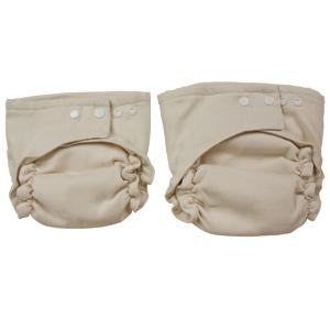 The OsoCozy® Two Size Fitted Cloth Diaper
