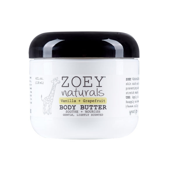 Zoey Naturals Vanilla Grapefruit Body Butter