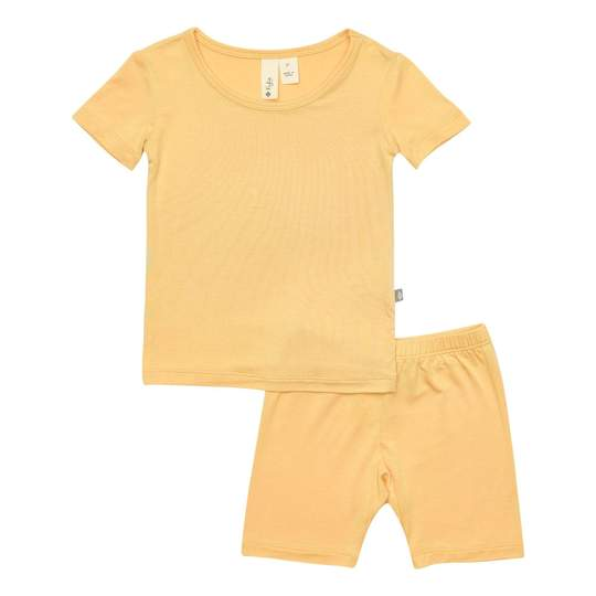 Kyte Baby Short Sleeve Pajama Set in Honey
