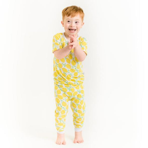 Little Sleepies Lemons Two-Piece Bamboo Pajama Set