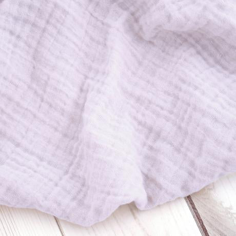 The Sugar House Classic Muslin Swaddle in Lilac