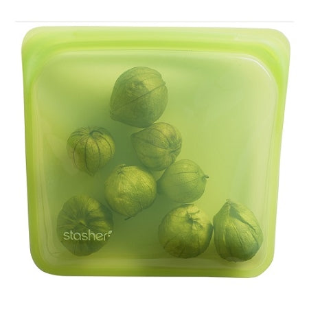 Stasher - Reusable Silicone Sandwich Bag - Lime