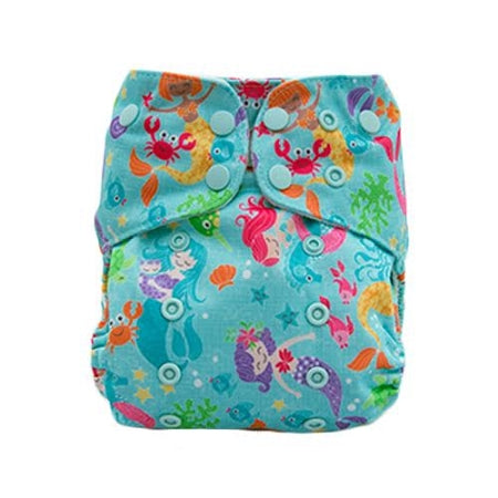 Lalabye Baby - Dearest Diapers Exclusive Enchantment under the Sea One Size Diaper