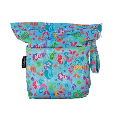 Lalabye Baby - Dearest Diapers Exclusive Enchantment under the Sea Grab n' Go (large wet/dry bag)