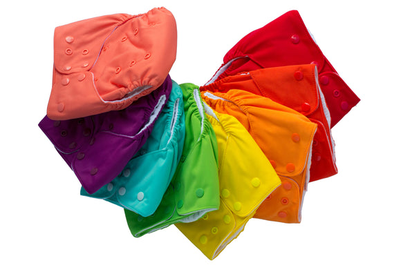 Lalabye Baby Cloth Diaper - Solids