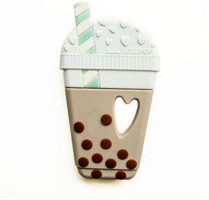 loulou LOLLIPOP - Milk Tea Teether