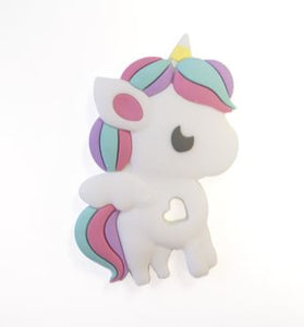 loulou LOLLIPOP - Rainbow Unicorn Teether