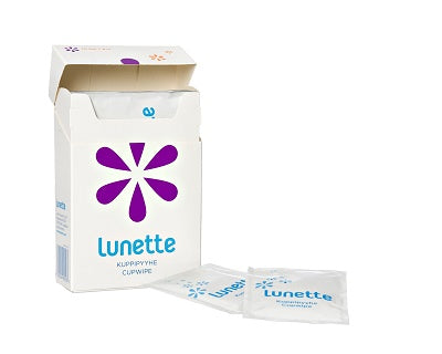 Lunette CupWipes- Box of 10