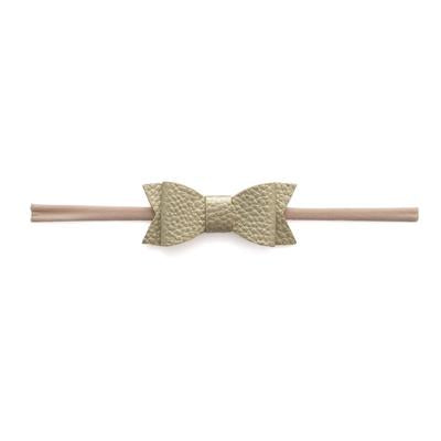 Baby Bling - Leather Bow Tie Skinny